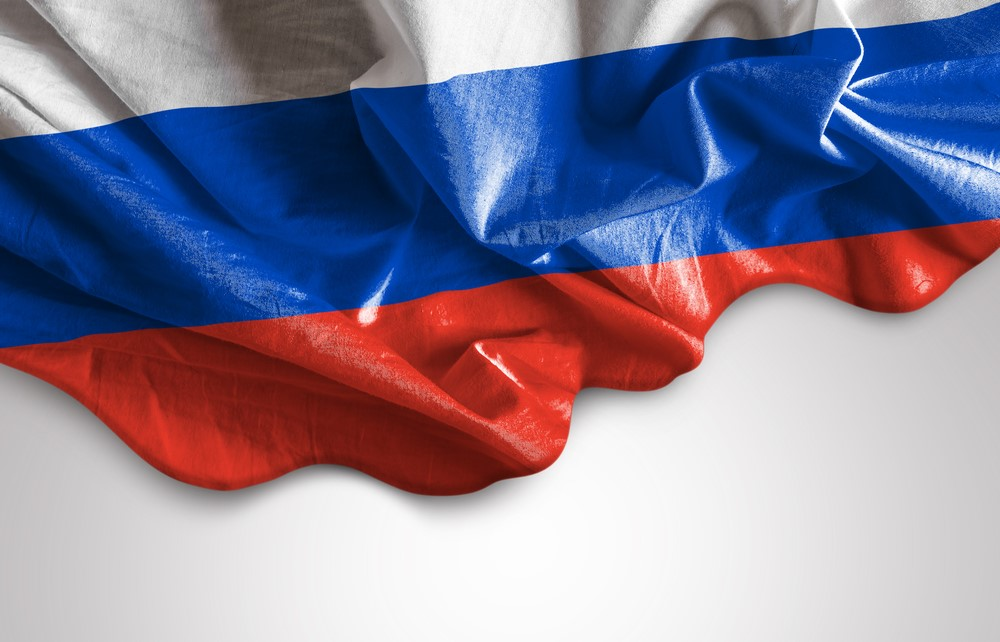 Waving Flag of Russia-1