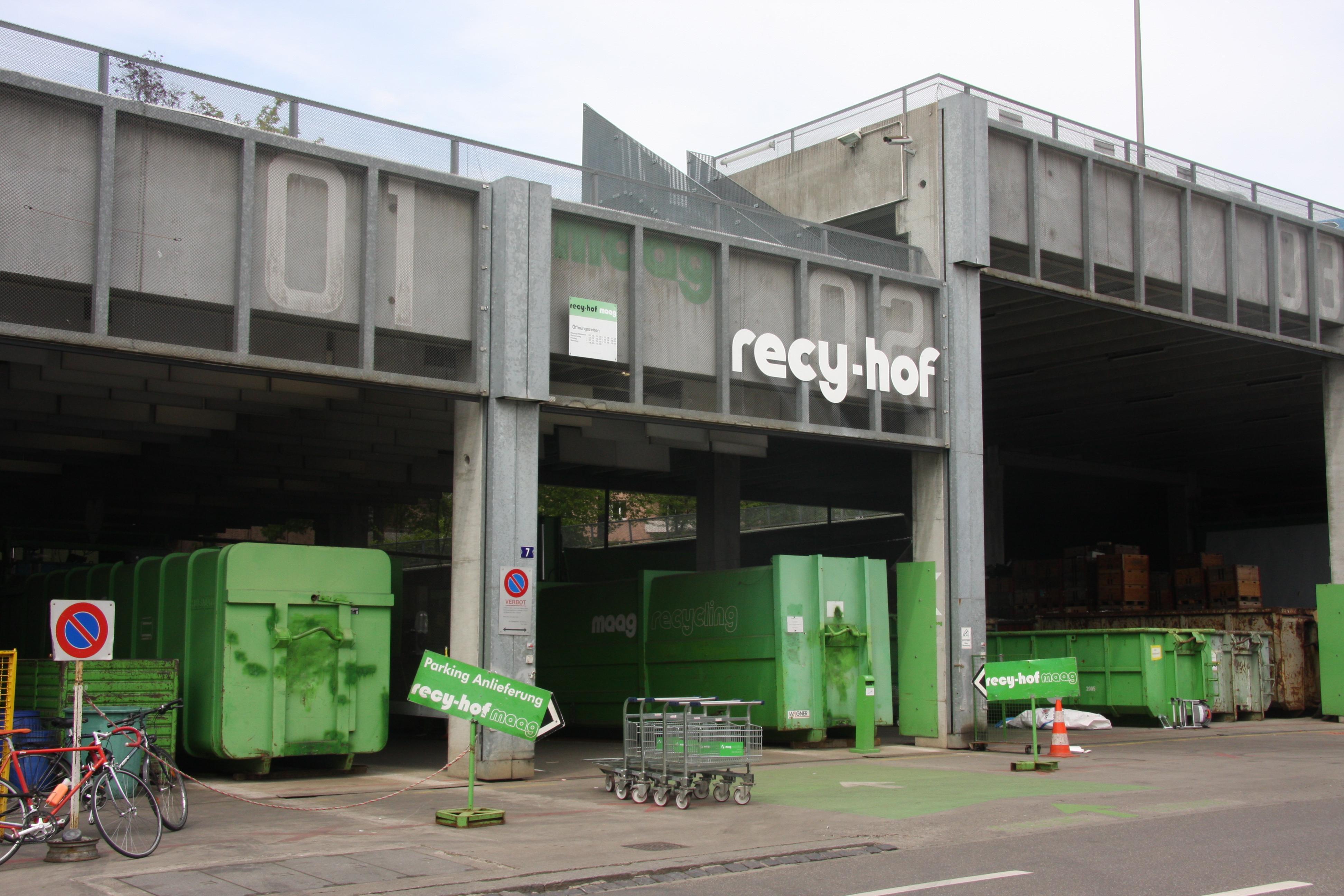 Querung Grüze - Maag Recycling sieht Vorlage kritisch und bezieht Stellung