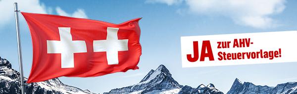 Der Wirtschaftsstandort Winterthur braucht ein Ja zur AHV-Steuervorlage!