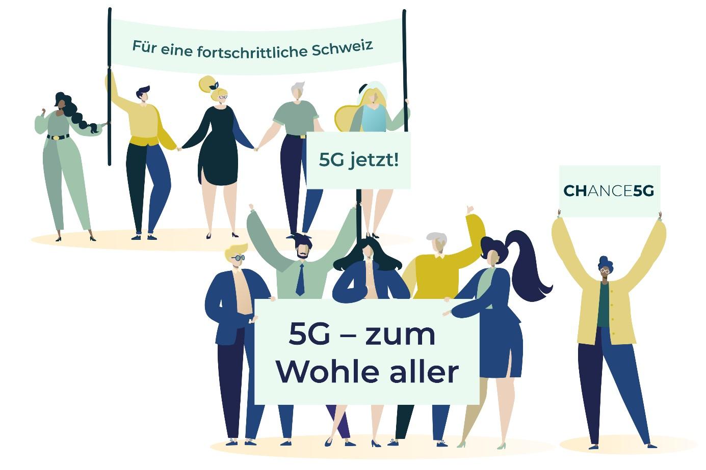 Die 5G-Infrastruktur ist für den Wirtschaftsstandort Schweiz matchentscheidend